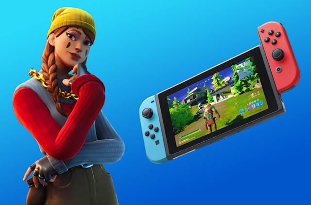 'Fortnite' is getting improved framerates and resolutions on Switch