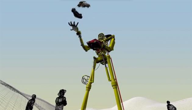 It's time to crowdfund the first step towards giant car-juggling robots