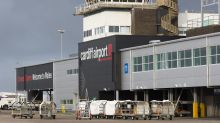 Plane abandons take-off at Cardiff airport after bird is sucked into engine