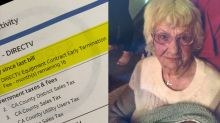 DirecTV charged woman who died at 102 an early termination fee