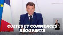 Discours de Macron: commerces et cultes peuvent ouvrir le samedi 28 novembre sous condition