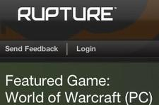 EA buys WoW social networking site Rupture