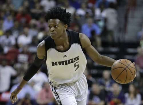 De'Aaron Fox's speed reminds some of fellow Kentucky product John Wall. (AP)
