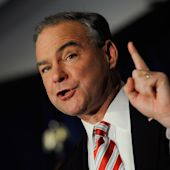 Tim Kaine Will Need to Ease Sanders Supporters' Concerns at Democratic Convention