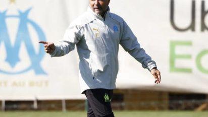 Foot - L1 - OM - L'OM au complet à Saint-Étienne en Ligue1