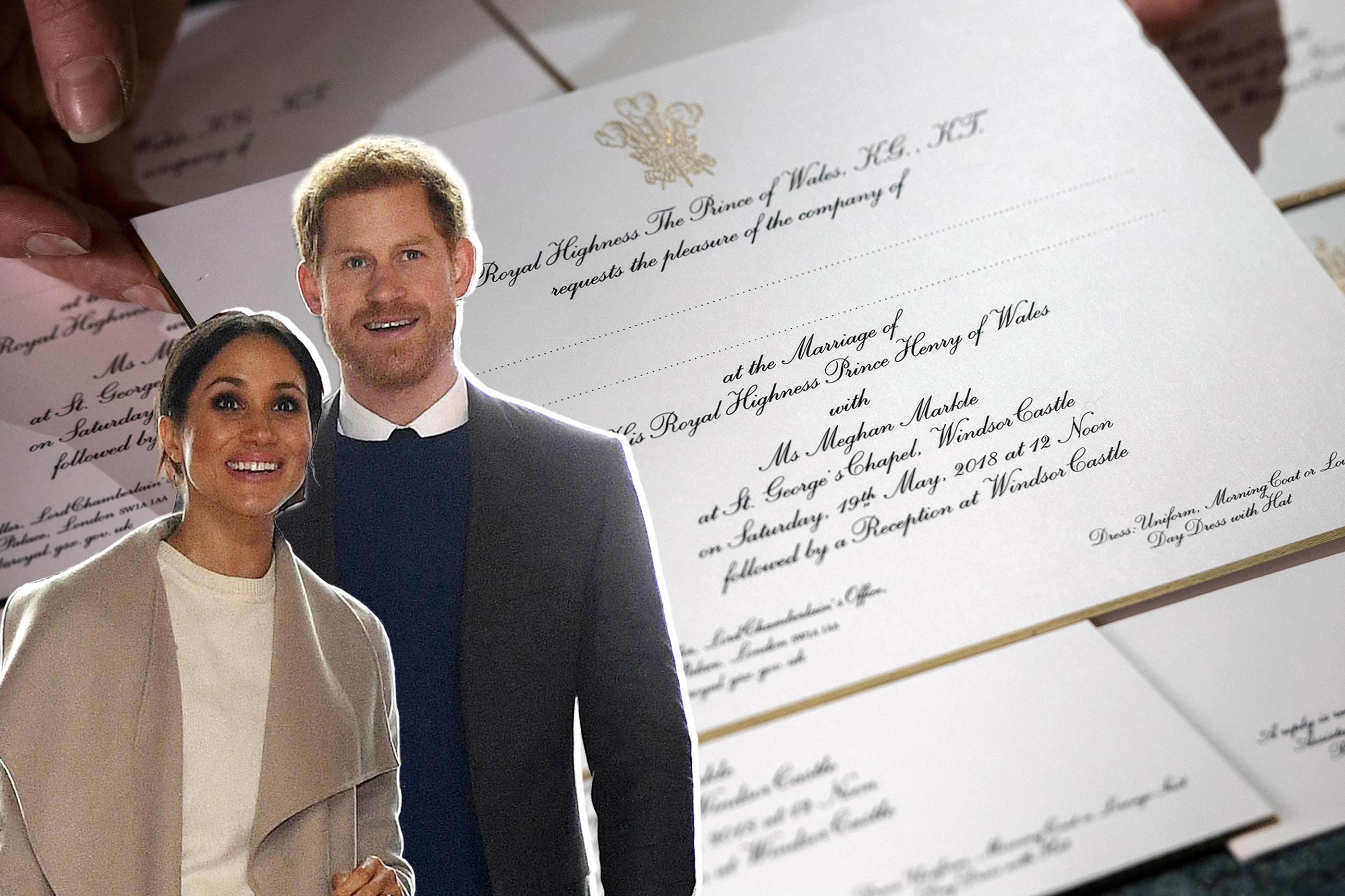 How Much Do Wedding Invites Cost: Here's How Much Prince Harry And Meghan Markle's Wedding
