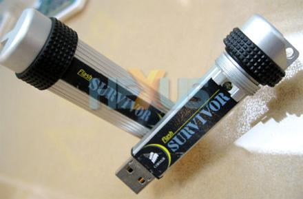 Corsair's Flash Survivor drive takes a beating, stays dry