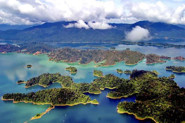 肯逸湖 (圖/Kenyir Lake)