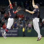 Lindor, Indians hold off Angels 6-5 for 26th win in 27 games