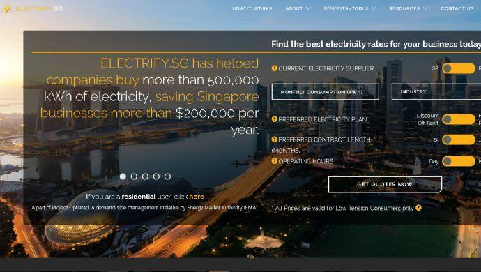 Singapore's energy marketplace Electrify raises investment from