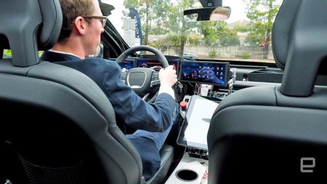 Riding inside the Lucid Air luxury EV