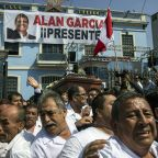 In Peru, supporters mourn ex-leader Garcia after suicide