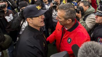 Harbaugh's best shot at Meyer may be his last