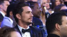 Scarlett Johansson asks James Franco for her Time's Up pin badge back