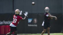 Watch: Trey Lance gets first reps at 49ers rookie minicamp