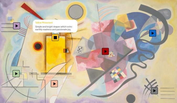 Google's 'Play a Kandinsky' machine learning experiment
