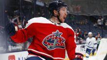 Zac Dalpe's resilience, latest NHL return nets Masterton nomination for Blue Jackets