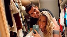 Álvaro Morata y Alice Campello irradian felicidad en medio de su encierro doméstico