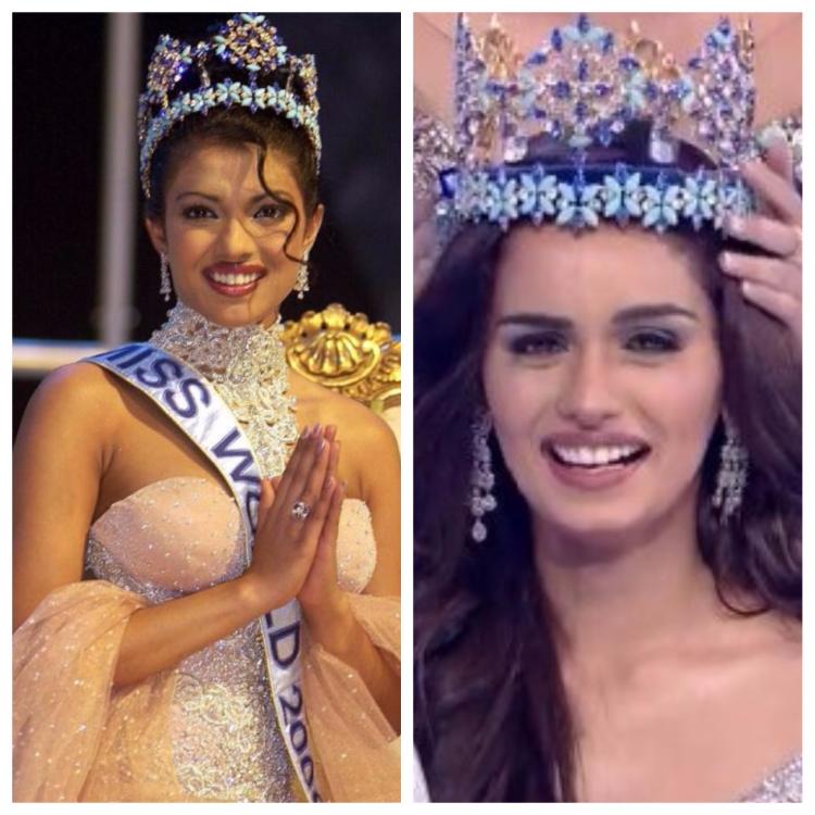Priyanka Chopra Congratulates Miss World 2017 Manushi Chhillar