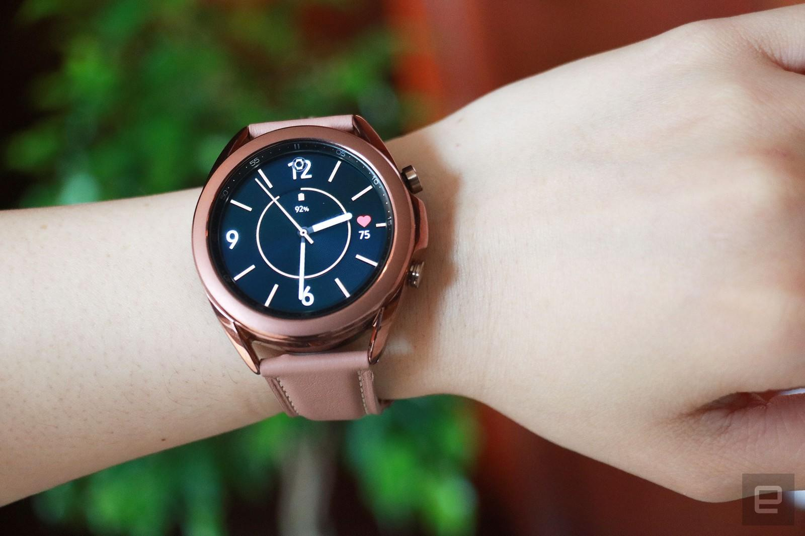 Samsung's Galaxy Watch 3 models are down to all-time lows at Amazon - Engadget