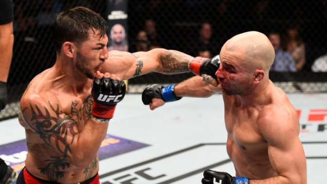 Cub Swanson's answers Artem Lobov's challenge, cruises to unanimous decision victory