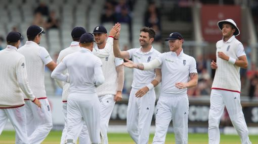 Anderson in the wickets as England rout Pakistan