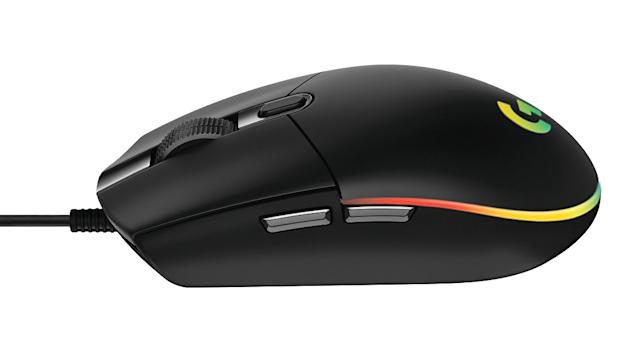 Logitech's improved G203 gaming mouse offers RGB on a budget