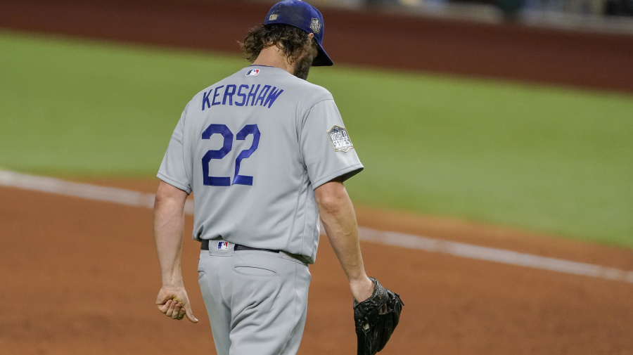Kershaw finally experiencing fun side of October