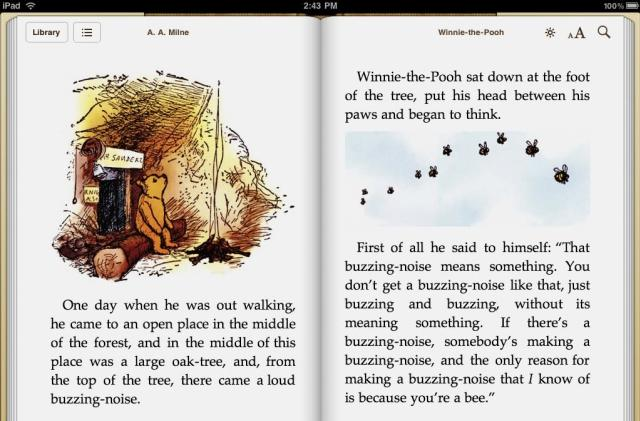 Eddy Cue: Steve Jobs picked 'Winnie the Pooh' as the iBooks freebie, also came up with the idea for 'page curls'