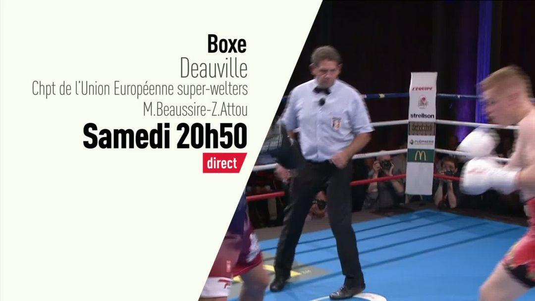 boxe soir e boxe grande soir e boxe deauville bande annonce vid o. Black Bedroom Furniture Sets. Home Design Ideas