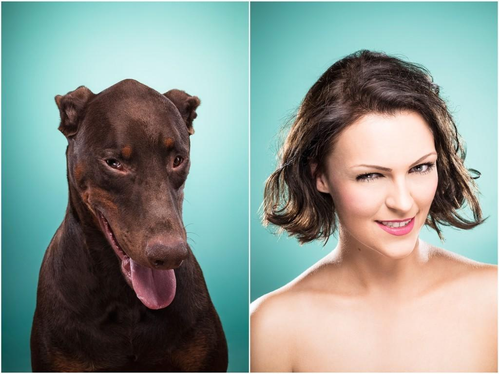 """<p>She writes, """"While I don't believe in the common folk wisdom claiming dog owners become similar looking to their dogs over the years, I do believe that they become really, really good in interpreting their pets' subtle mimic."""" (Credit: <a href=""""http://ines-opifanti.com/"""" rel=""""nofollow noopener"""" target=""""_blank"""" data-ylk=""""slk:Ines Opifanti"""" class=""""link rapid-noclick-resp"""">Ines Opifanti</a>)<br></p>"""