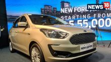 2018 Ford Aspire Facelift With New Features and Engine Launched in India - Detailed Image Gallery