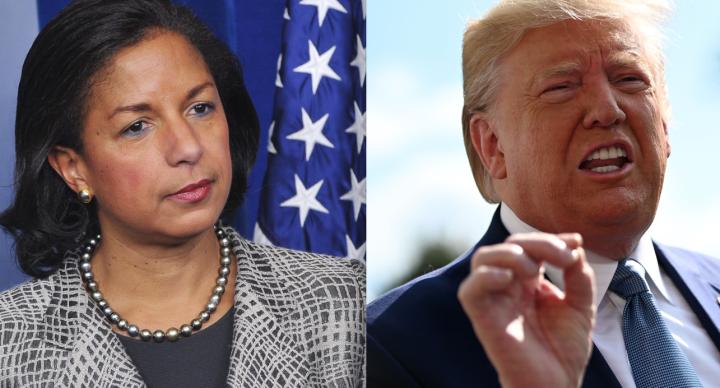 Susan Rice shared a 'Totally Gross' Trump Encounter