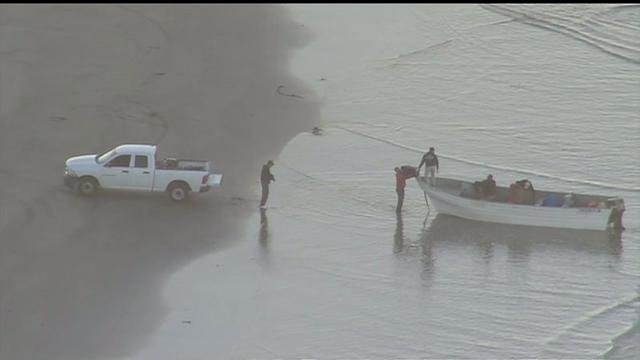 Smuggling Boat Busted On SoCal Beach
