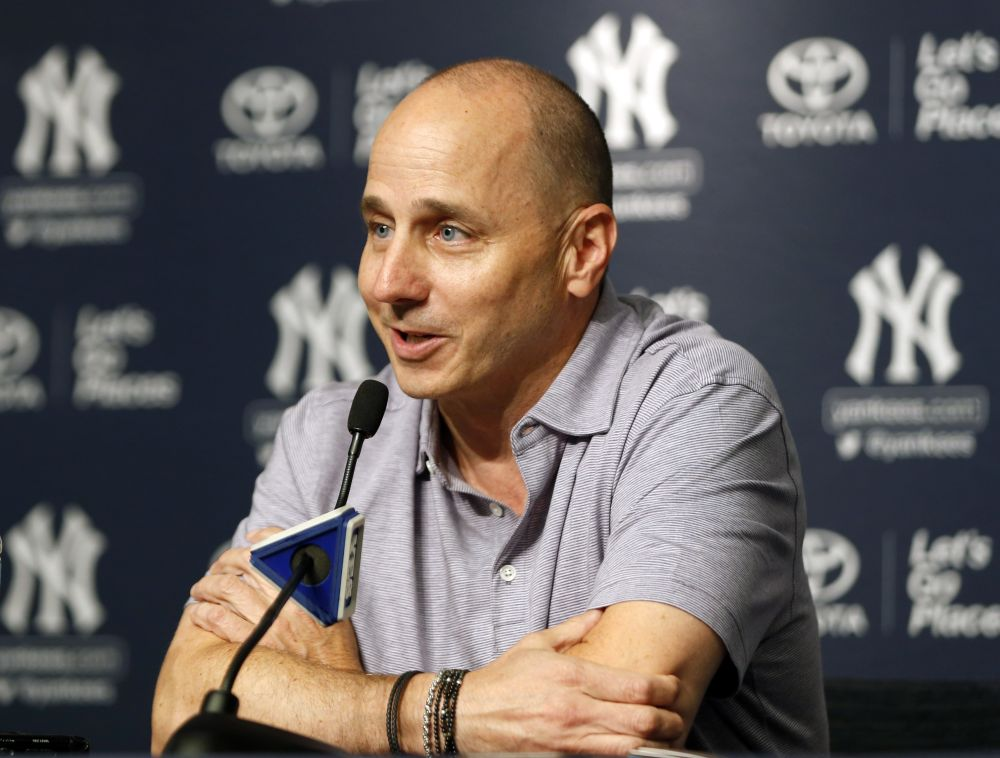 Yankees GM Brian Cashman says team will let the media interview all of its manager candidates. What would go wrong? (AP)
