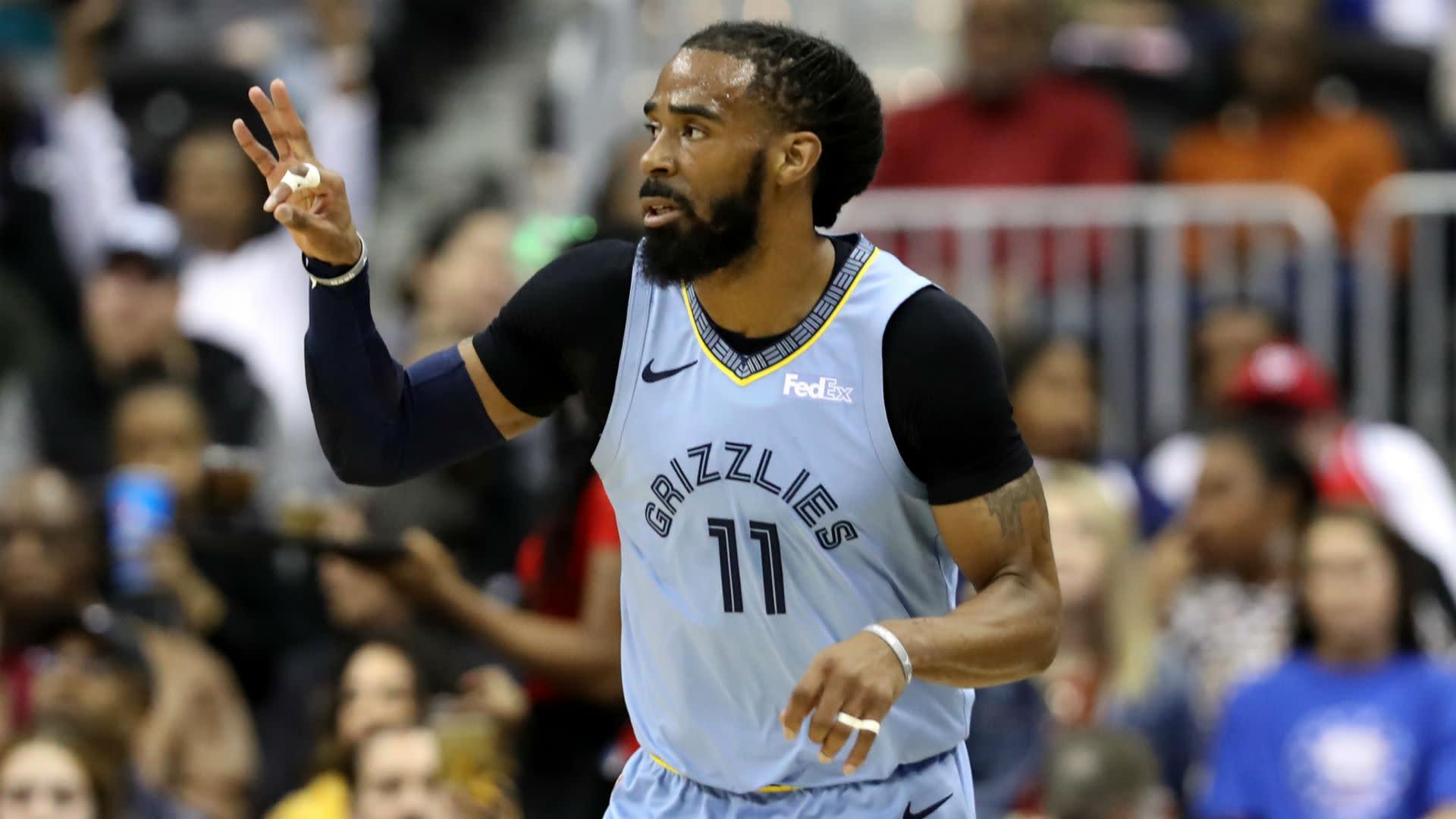 dccd2abca8ab NBA trade rumors  Jazz still chasing Grizzlies  Mike Conley