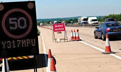 Smart speeding sign flashes your license plate number