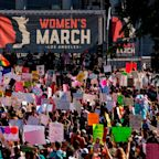 Powerful Moments at LA Women's March