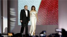 Melania Trump Helped Hervé Pierre Design Her Inaugural Ball Gown