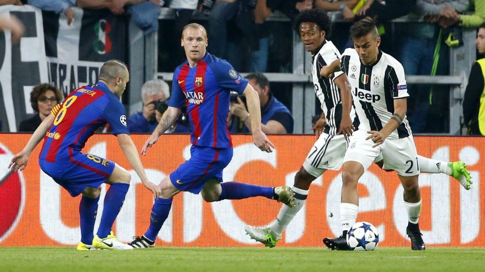 La Juventus cocinó su ventaja por la banda derecha