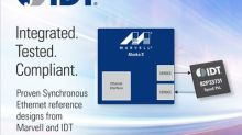 IDT Introduces Synchronous Ethernet Solution for 4G/5G Mobile Networks Using Marvell PHYs
