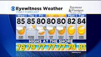 Kate's Tuesday Evening Forecast At 11 PM: August 19, 2014