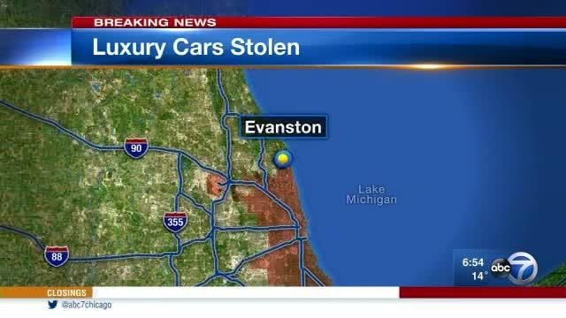 Cars Stolen From Dealership
