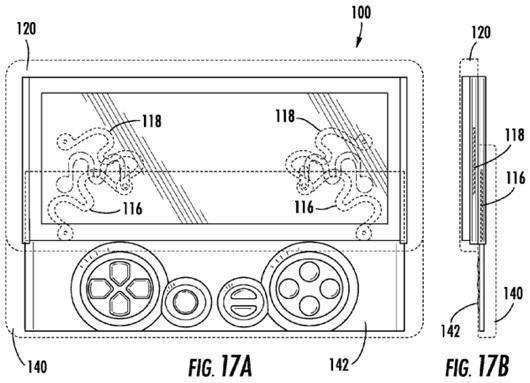 Sony awarded patent for Xperia Play with double the keyboards