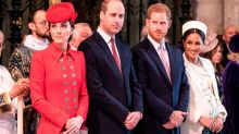 The tell-tale signs the royal fab four were headed for a split