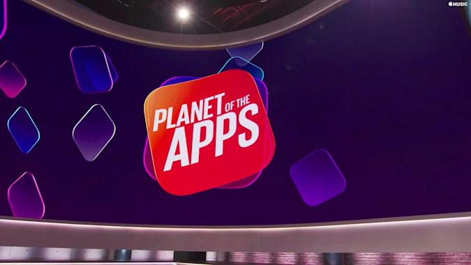 Screenshot of Planet of the Apps by Apple Music