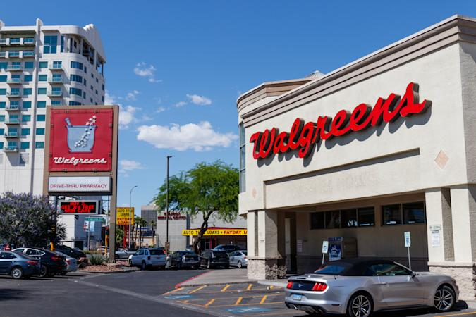 Las Vegas - Circa June 2019: Walgreens Retail Location. Walgreens has signed partnerships to collaborate on in-store health services.