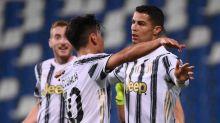 Cristiano Ronaldo e Dybala chegam ao centésimo gol cada um, e Juventus vence o Sassuolo no Italiano