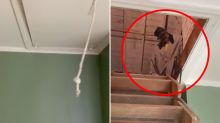 Real estate agent's terrifying find in attic of empty home