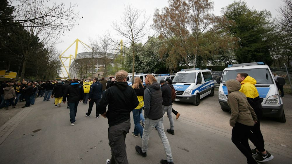 Dortmund police clear 'suspicious objects' after Champions League game
